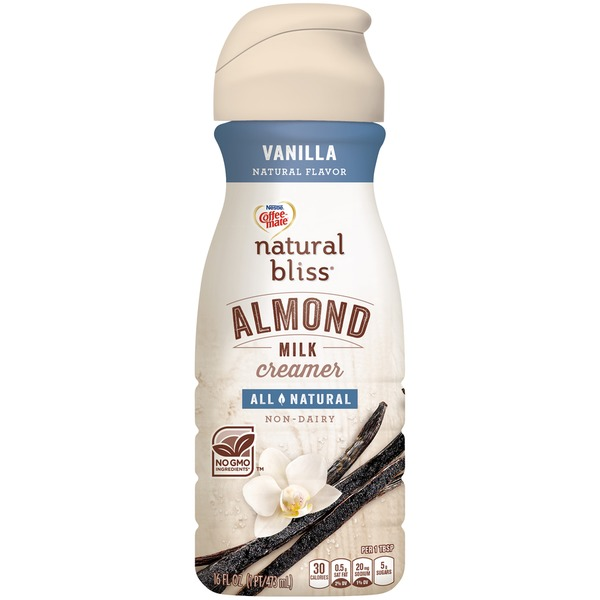 Nestlé Coffee Mate Natural Bliss Vanilla Almond Milk Creamer