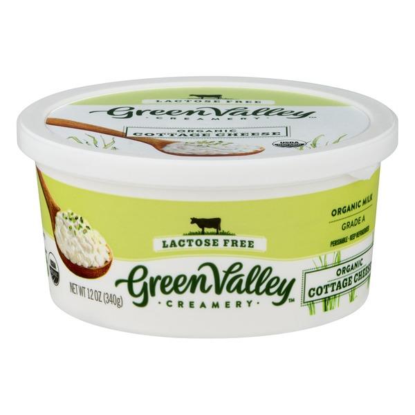 green valley organics organic lactose free cottage cheese 12 oz rh instacart com dairy free cottage cheese woolworths dairy free cottage cheese tesco