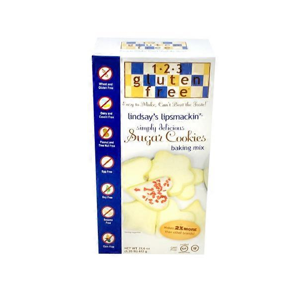 1 2 3 Gluten Free Gluten Free Sugar Cookie Mix 21 6 Oz From Meijer