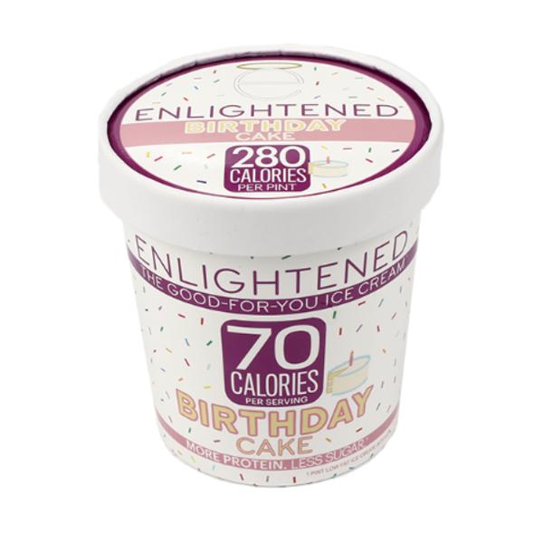 Enlightened Birthday Cake Pint 10 Pt From Safeway