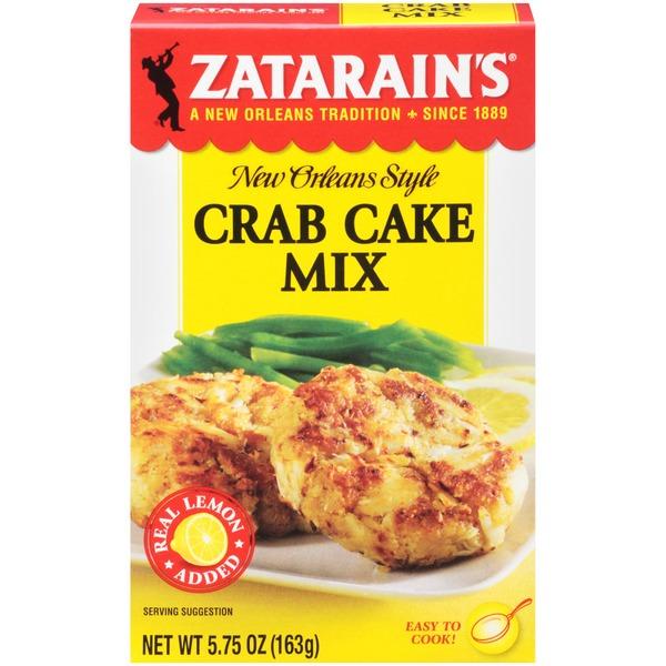 Zatarain's® Crab Cake Mix (5 75 oz) from Stater Bros