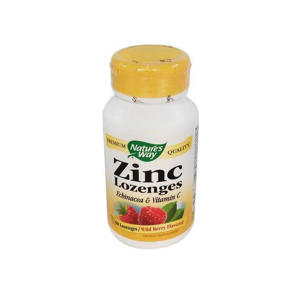 Nature S Way Berry Flavor Zinc Lozenges From Safeway Instacart