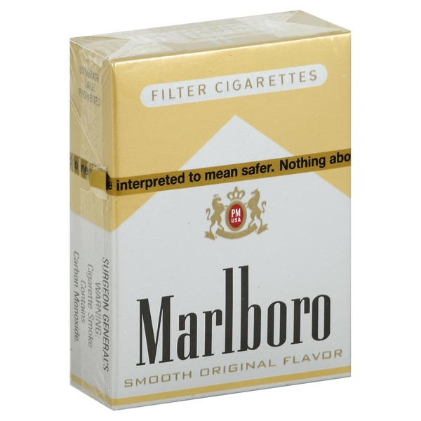 marlboro cigarettes filter gold pack 72s 1 ea from
