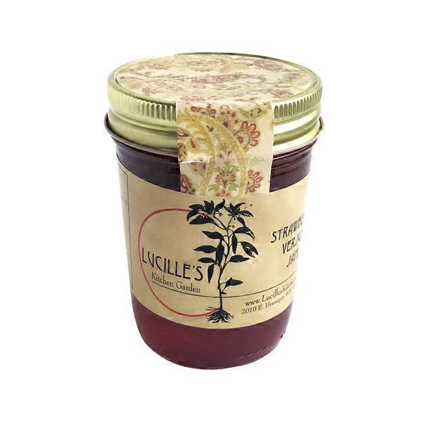 Lucille S Kitchen Garden Strawberry Verjus Jam 8 Oz From Fresh