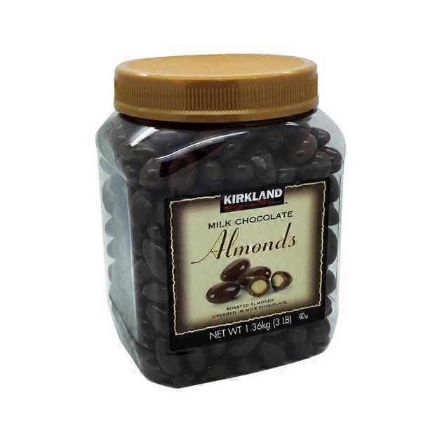 Kirkland Signature Milk Chocolate Almonds From Costco