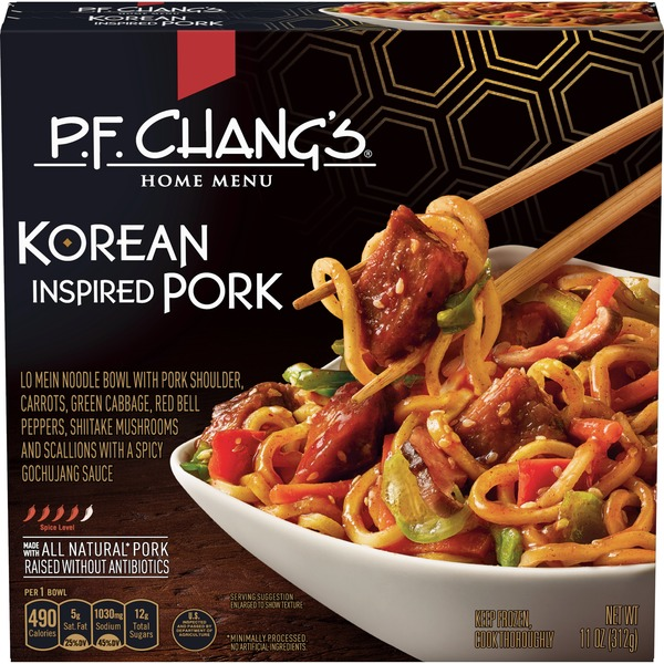P F  Chang's Pork Korean Noodle Bowl (11 oz) from Albertsons