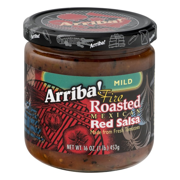 Arriba! Fire Roasted Mexican Red Salsa Mild