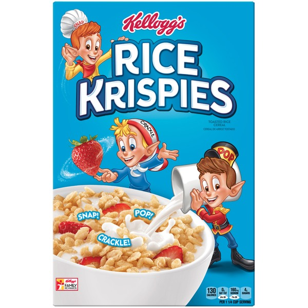 Kellogg's Rice Krispies Cereal (12 Oz) From Whole Foods