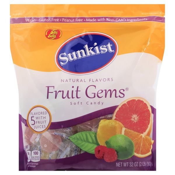 Jelly Belly Soft Candy, Fruit Gems (32 oz) from BJ's