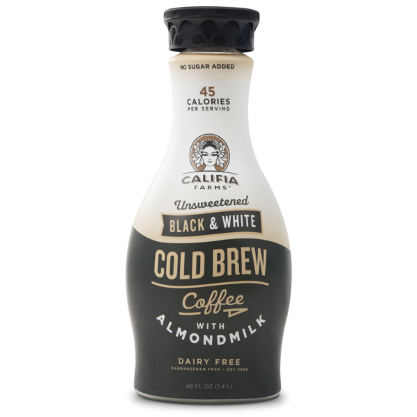 Califia Farms Black & White Cold Brew Coffee with Almondmilk
