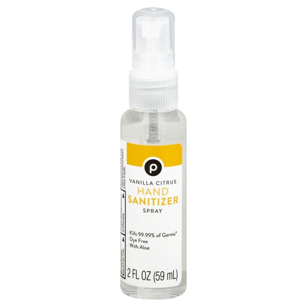 Publix Hand Sanitizer Vanilla Citrus Spray 2 Oz Instacart