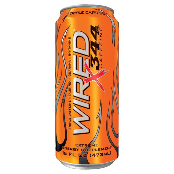 Wired Energy Drink, X344 Caffeine from Albertsons Market - Instacart