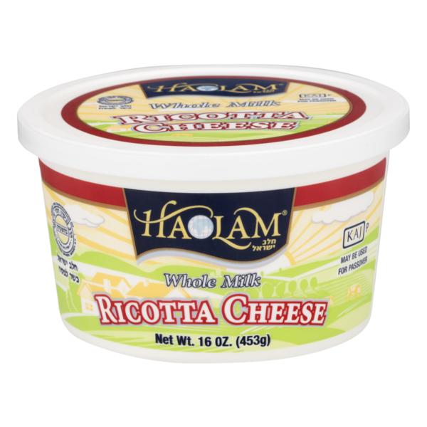 haolam whole milk ricotta cheese 16 oz  instacart