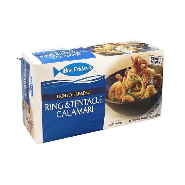 Mrs Friday S Lightly Breaded Ring Amp Tentacle Calamari 36