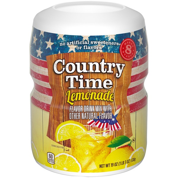 Country Time Lemonade Country Time Lemonade Drink Mix From Kroger