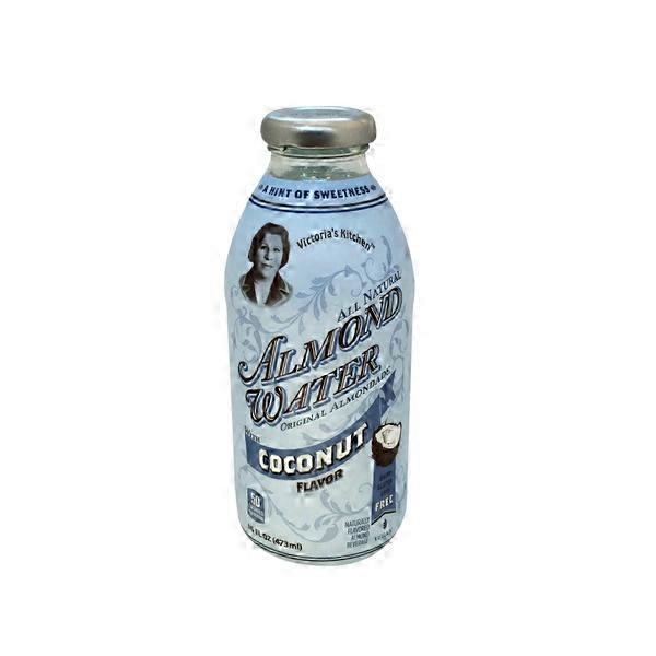 victorias kitchen almond water coconut flavor - Victorias Kitchen Almond Water