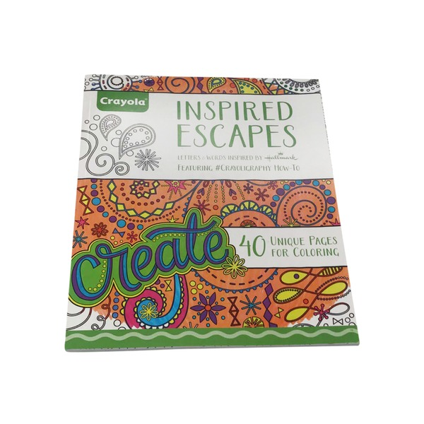 Crayola Pages for Coloring, Unique, Inspired Escapes from Giant Food ...
