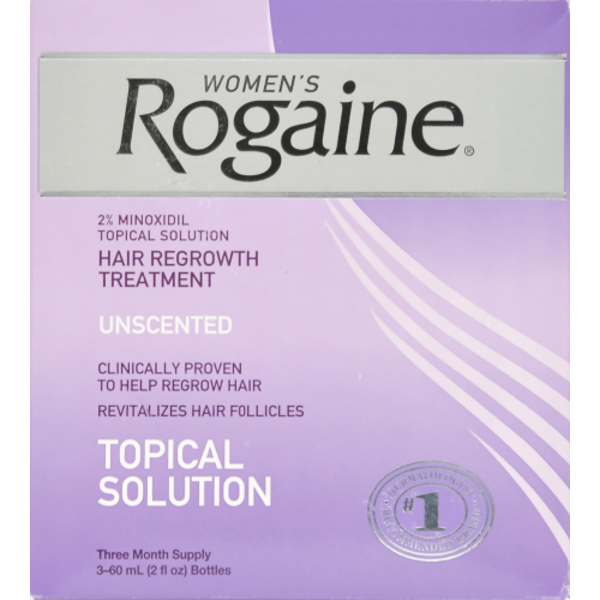 Rogaine Womens 2 Minoxidil Topical Solution Three Month Supply 6