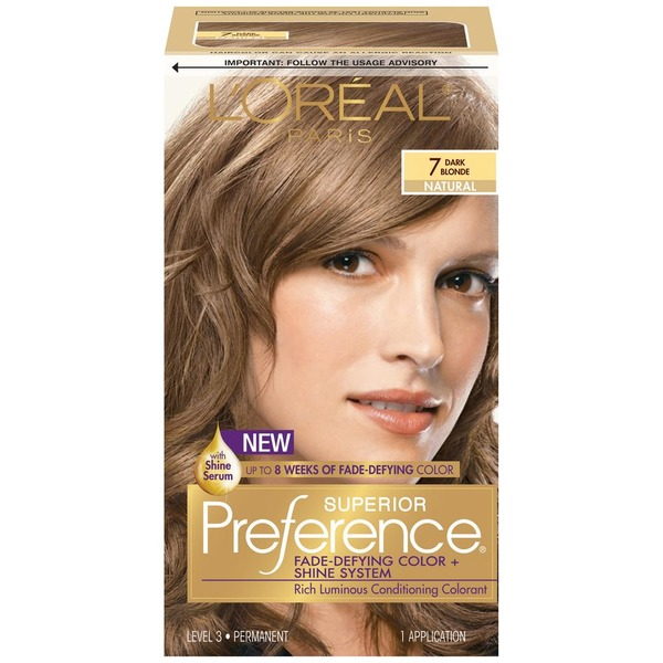 Superior Preference Natural 7 Dark Blonde Hair Color From Cvs