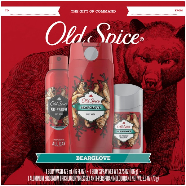 Old Spice BearGlove 3 pc Gift Set & Old Spice BearGlove 3 pc Gift Set (3 each) from Kroger - Instacart