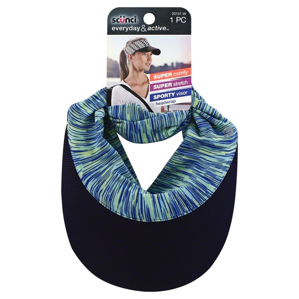 Remarkable Scunci Headwrap Sporty Visor 1 Each From Fred Meyer Ibusinesslaw Wood Chair Design Ideas Ibusinesslaworg