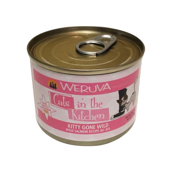 Weruva Pet Food Weruva Kitty Gone Wild Salmon Cat Food 6 Oz 6 Oz