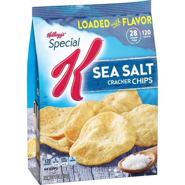 Kellogg S Special K Cracker Chips Sea Salt 4 Oz From Giant Food