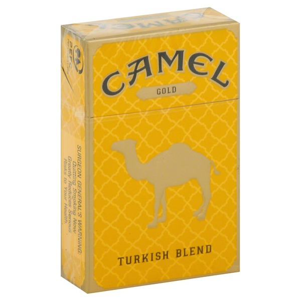 Camel Cigarettes, Gold, Turkish Blend (1 each) from Kroger