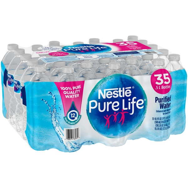 Nestlé Pure Life Purified Water (16 9 fl oz) from Hy-Vee - Instacart