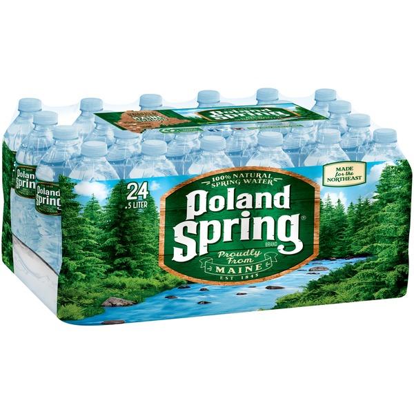 Poland Spring Natural Spring Water (16 9 fl oz) from Star Market
