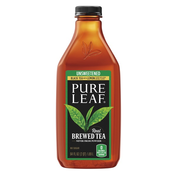Pure Leaf Unsweetened Tea With Lemon (64 fl oz) from Ralphs - Instacart