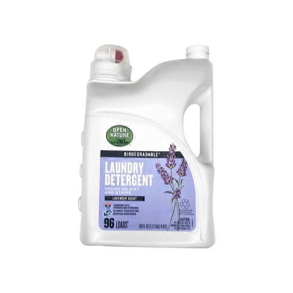 Open Nature Laundry Detergent Lavender Scent 150 Fl Oz Instacart