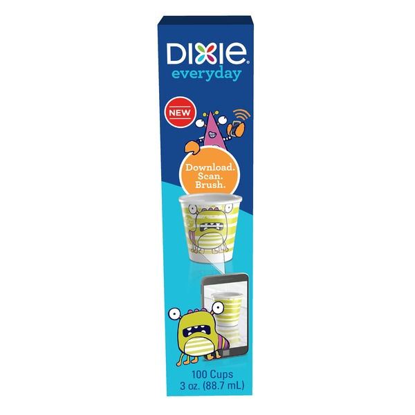 Dixie Everyday 3oz 100ct Bath Cups (100 0 ct) from Stop
