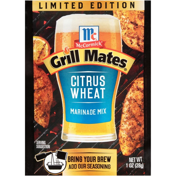McCormick® Grill Mates® Citrus Wheat Marinade Mix (1 oz) from Lowes