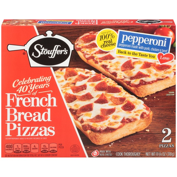 Stouffers French Bread Pizza Pepperoni French Bread Pizza From