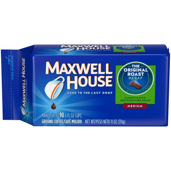 Maxwell House Original Roast Decaf Medium Ground Coffee 11