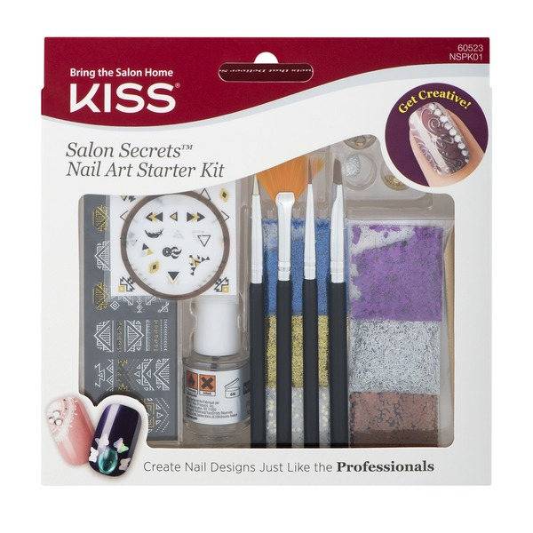 Kiss Salon Secrets Nail Art Starter Kit from Cub - Instacart