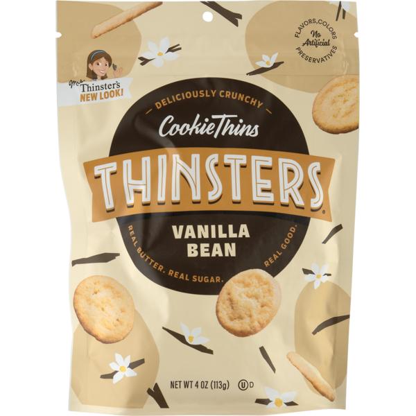 Mrs Thinsters CookieThins Vanilla Bean