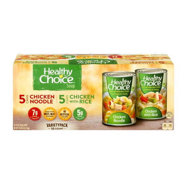 Healthy Choice Variety Soup Dru 10 15 Oz From Costco Instacart
