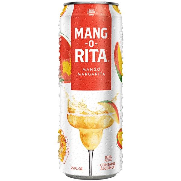 Bud Light Lime Ritas Mang O Rita Malt Beverage