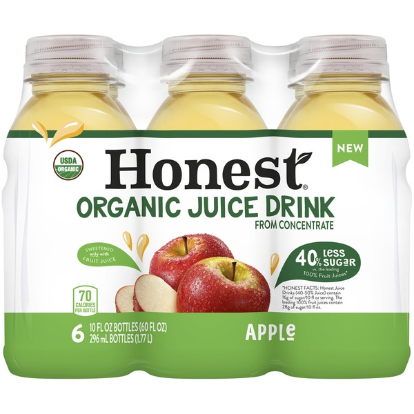 Honest Organic Apple Juice Drink From Concentrate (10 fl oz