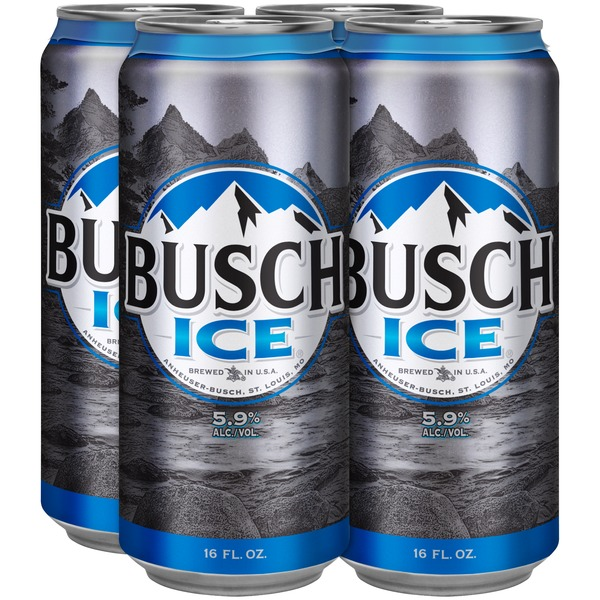 Busch Ice Beer (16 fl oz) from Safeway - Instacart