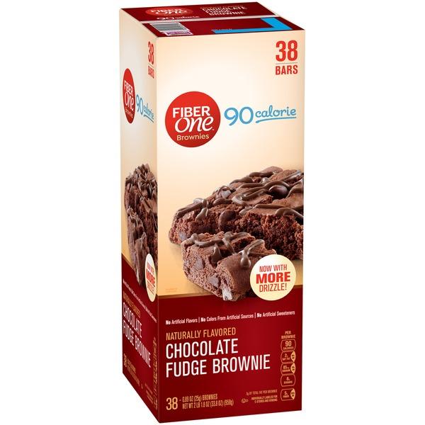 Fiber One 90 Calorie Chocolate Fudge Brownies 089 Oz