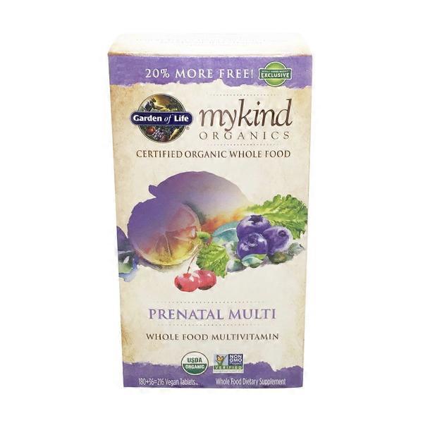 garden of life mykind organic prenatal multivitamin - Garden Of Life Prenatal