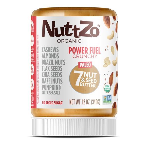 NuttZo Organic Powder Fuel Crunchy (12 oz) from Wheatsville