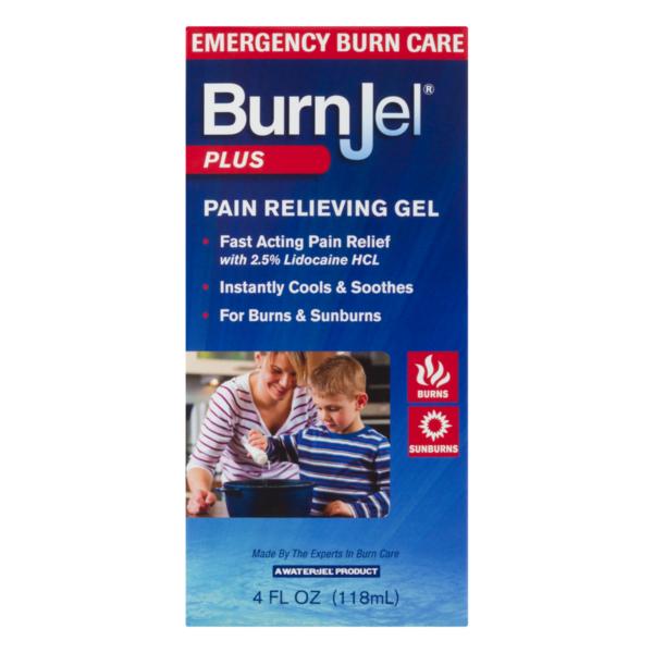 Burn Jel Plus Pain Relieving Gel (4 fl oz) from CVS Pharmacy