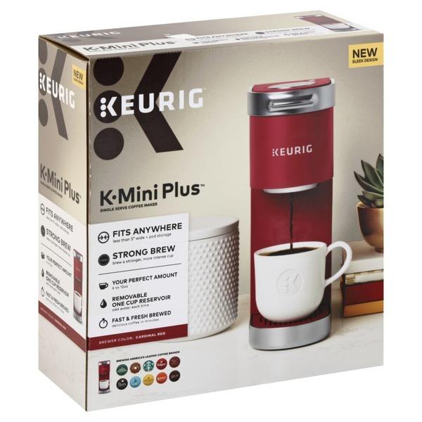 Keurig Single Serve Coffee Maker K Mini Plus Cardinal Red 1 Each