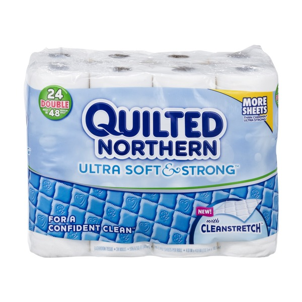 Quilted Northern Ultra Soft & Strong® Toilet Paper, 24 Double ... : quilted toilet paper - Adamdwight.com