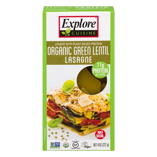Explore Cuisine Organic Green Lentil Lasagne From Whole Foods Market