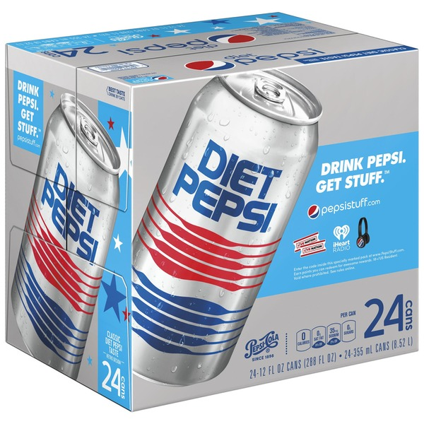 Diet Pepsi Cola Soda (12 fl oz) from Mariano's - Instacart